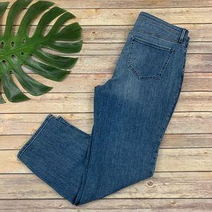 NYDJ Curves 360 slim straight leg jeans